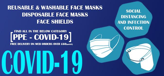 Covid-19 reusable washable face masks disposables face shields hand sanitizer